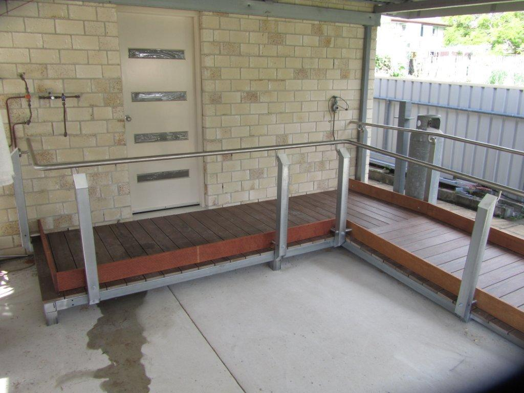 Accessible Modwood Ramp