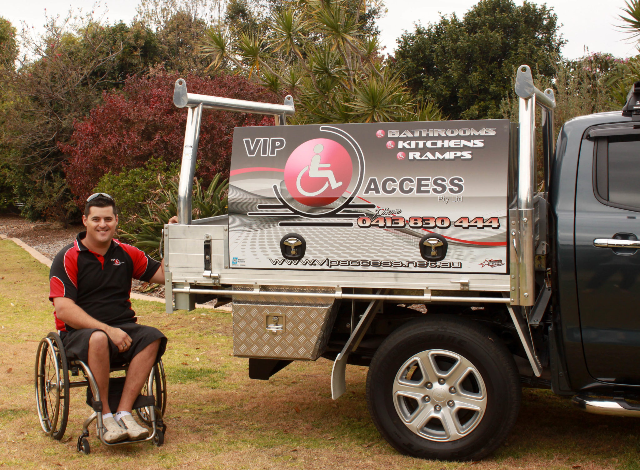 Scott Owner & Builder of VIP Access