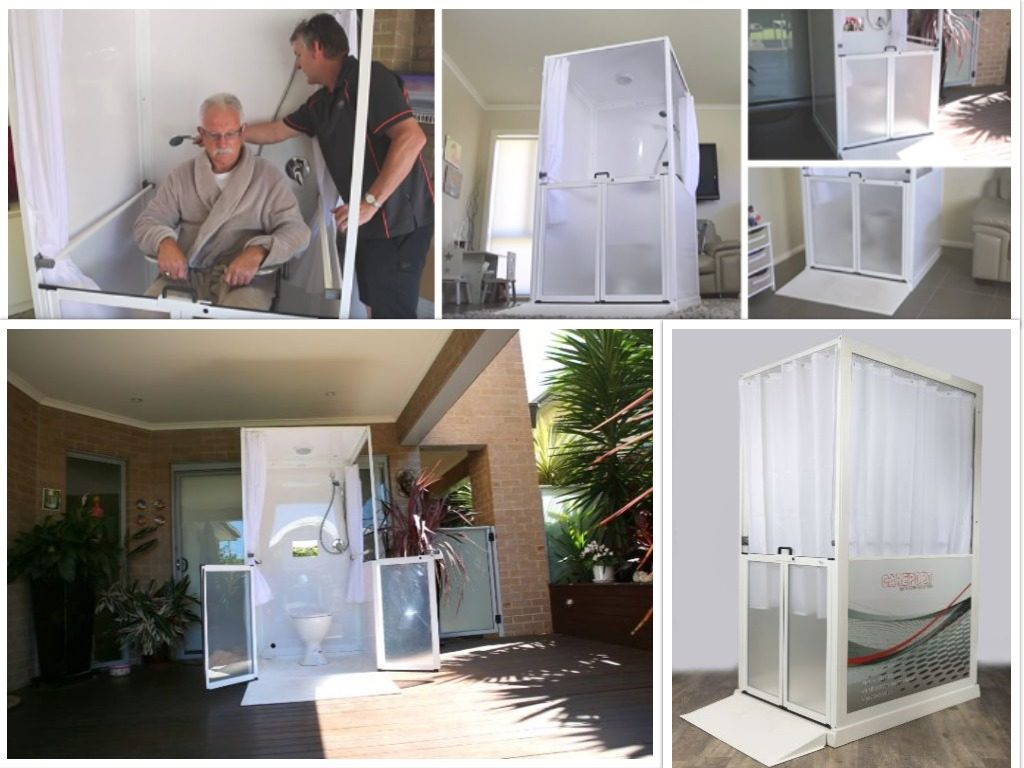 CarePorts:  Temporary Bathroom Facilities for The Aged or Disabled