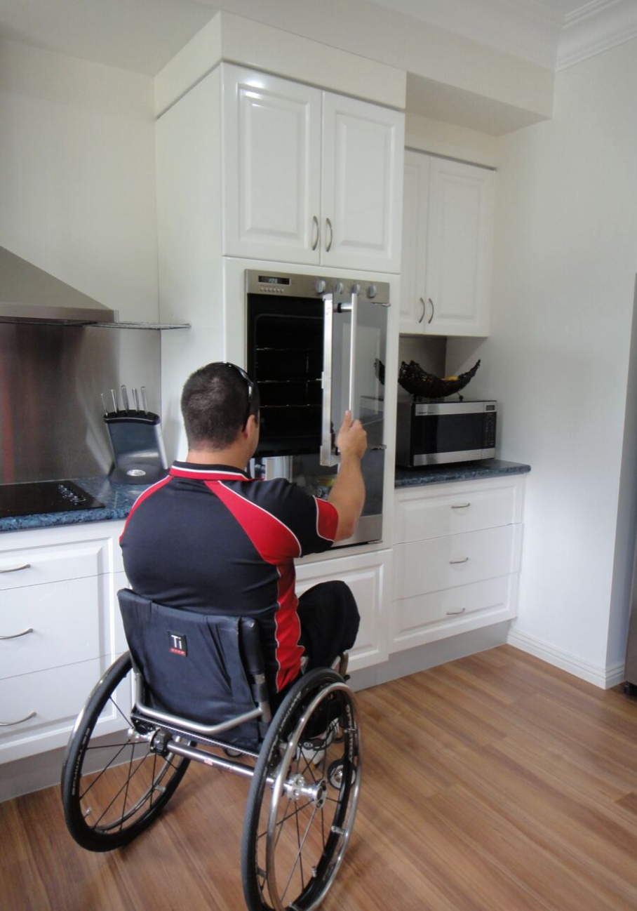 Accessible Kitchen Oven - Side Opening Oven